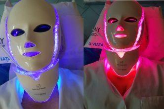 dermatologie masca LED